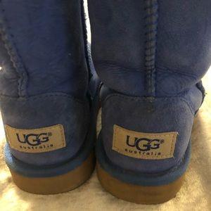 Girls royal blue UGGS